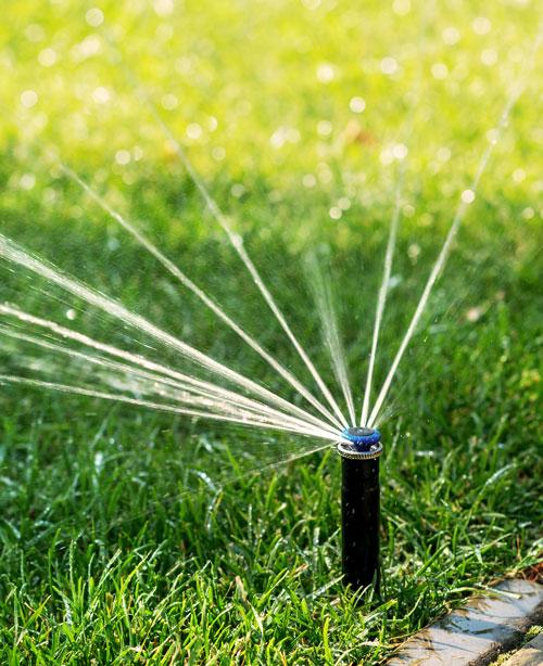 arrosage automatique connecté économie d'eau bassin terrain pelouse