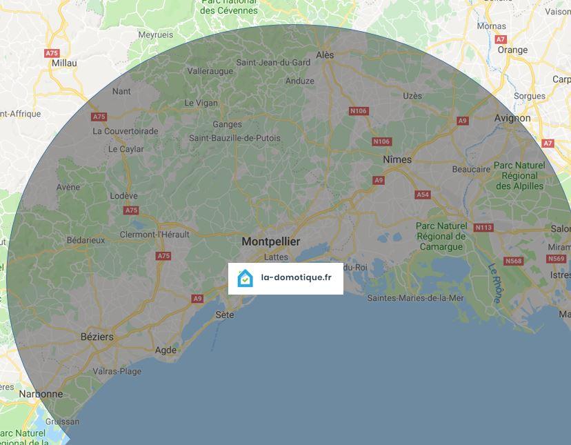 Montpellier Narbonne Nîmes Avignon Hérault Gard